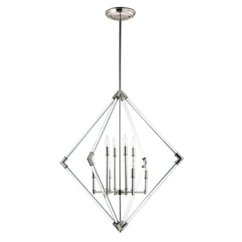 Maxim Lucent Multi-Light Pendant in Polished Nickel