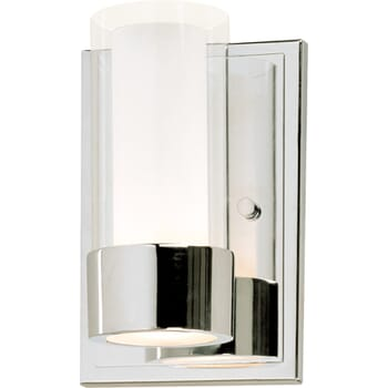 Maxim Silo Wall Sconce in Polished Chrome