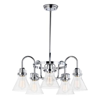 Maxim Seafarer 5-Light Chandelier in Polished Chrome