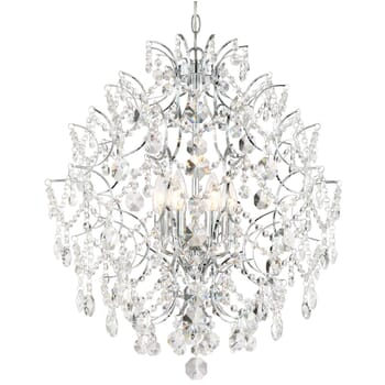Minka Lavery Isabella's Crown Stylish Crystal Chandelier in Chrome