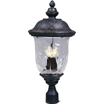 "Maxim Carriage House DC 26.5"" Outdoor Post Lantern in Bronze"