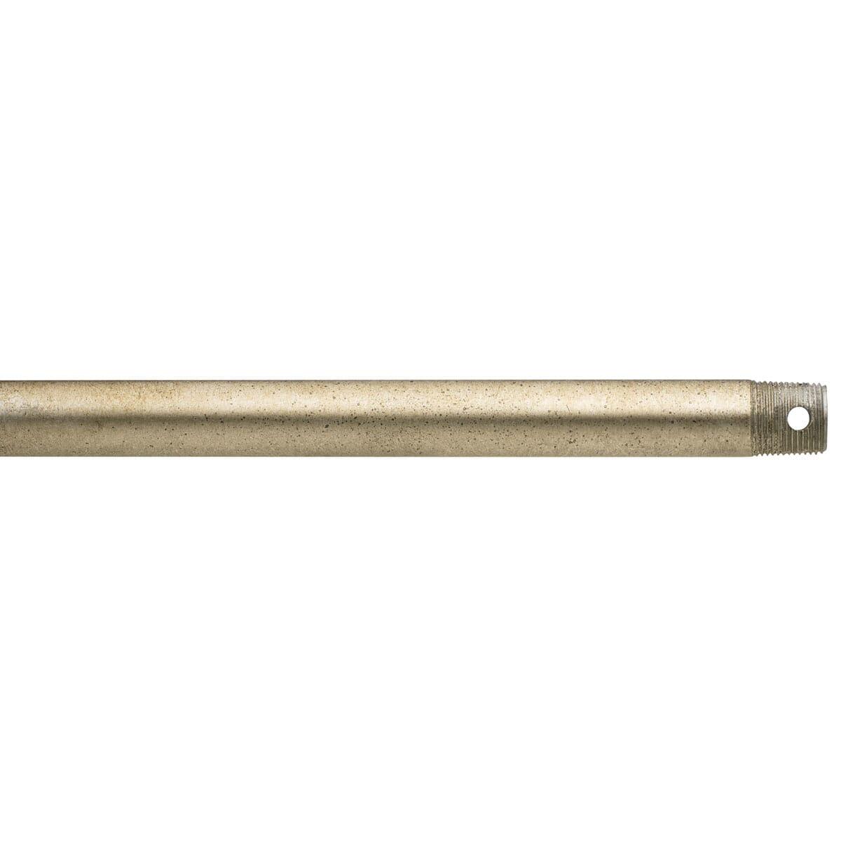 Kichler Fan Accessory 60 Ceiling Fan Downrod In Sterling Gold Lightsonline Com