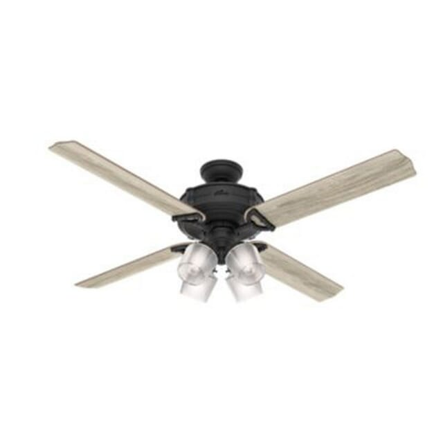 Hunter Brunswick 60-inch Indoor Ceiling Fan in Fresh White