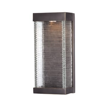 Maxim Stackhouse VX Outdoor LED Wall Sconce in Bronze