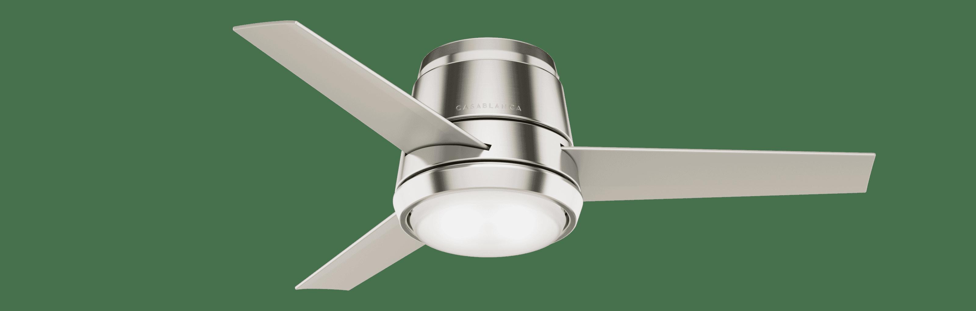 Casablanca Commodus 44 Indoor Ceiling Fan In Brushed Nickel