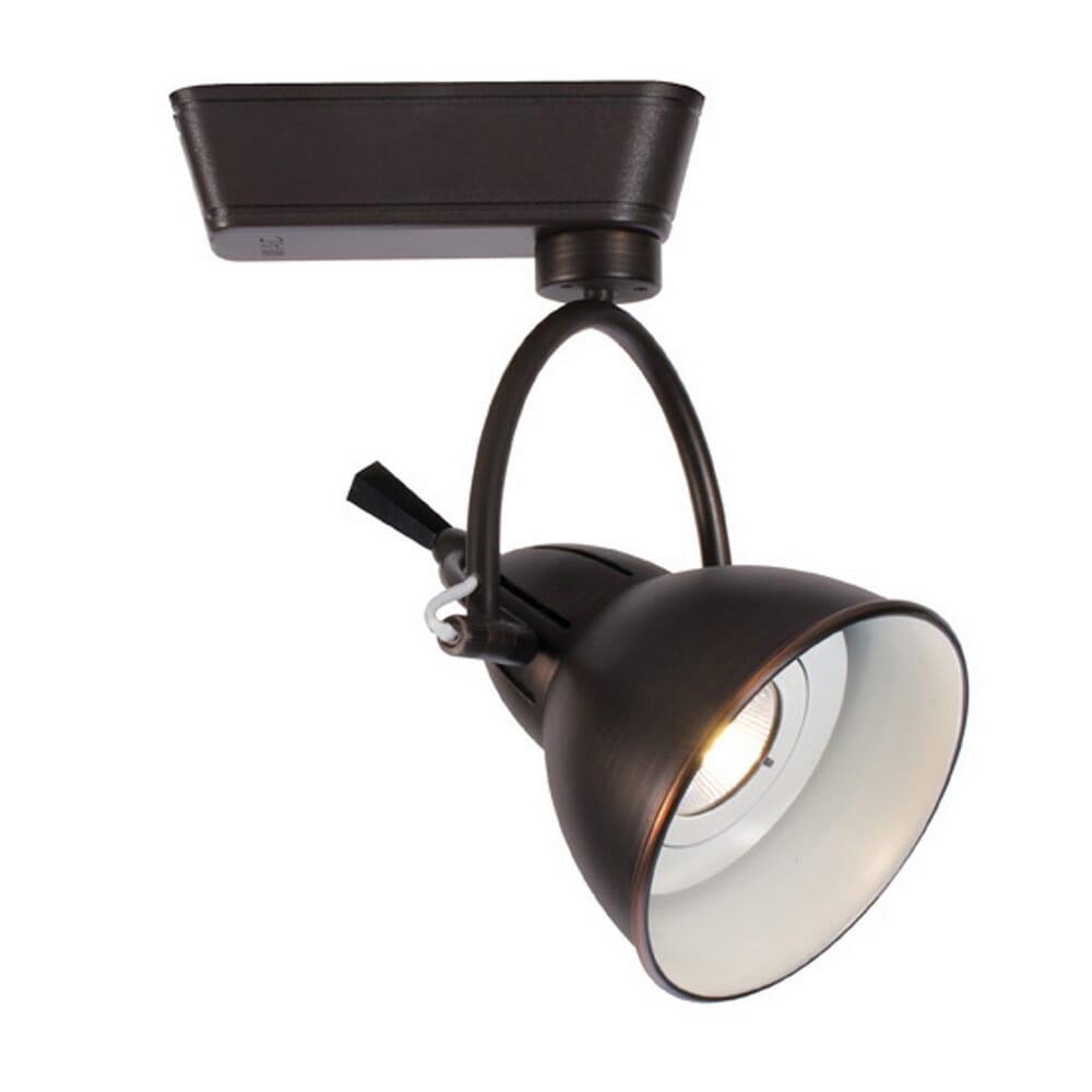 WAC Lighting 120V LED710 Cartier 1-Light LED  Track Head in Antique Bronze