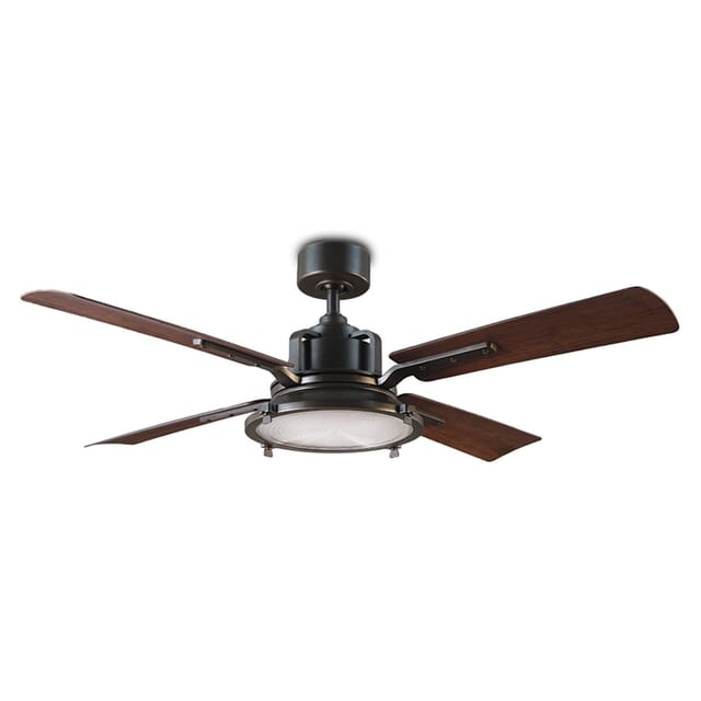 Modern Forms Nautilus 56-inch Outdoor LED Smart Ceiling Fan in Oil Rubbed Bronze