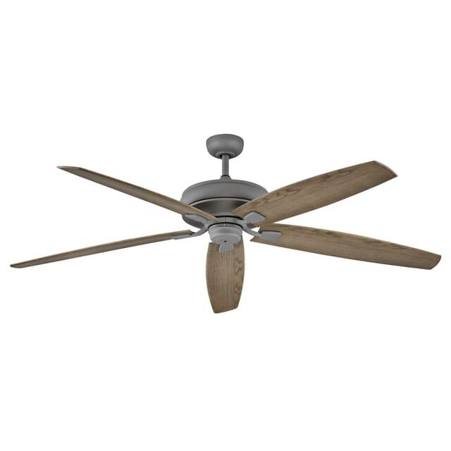 Hinkley Tempest 70 Indoor Outdoor Ceiling Fan In Graphite Lightsonline Com