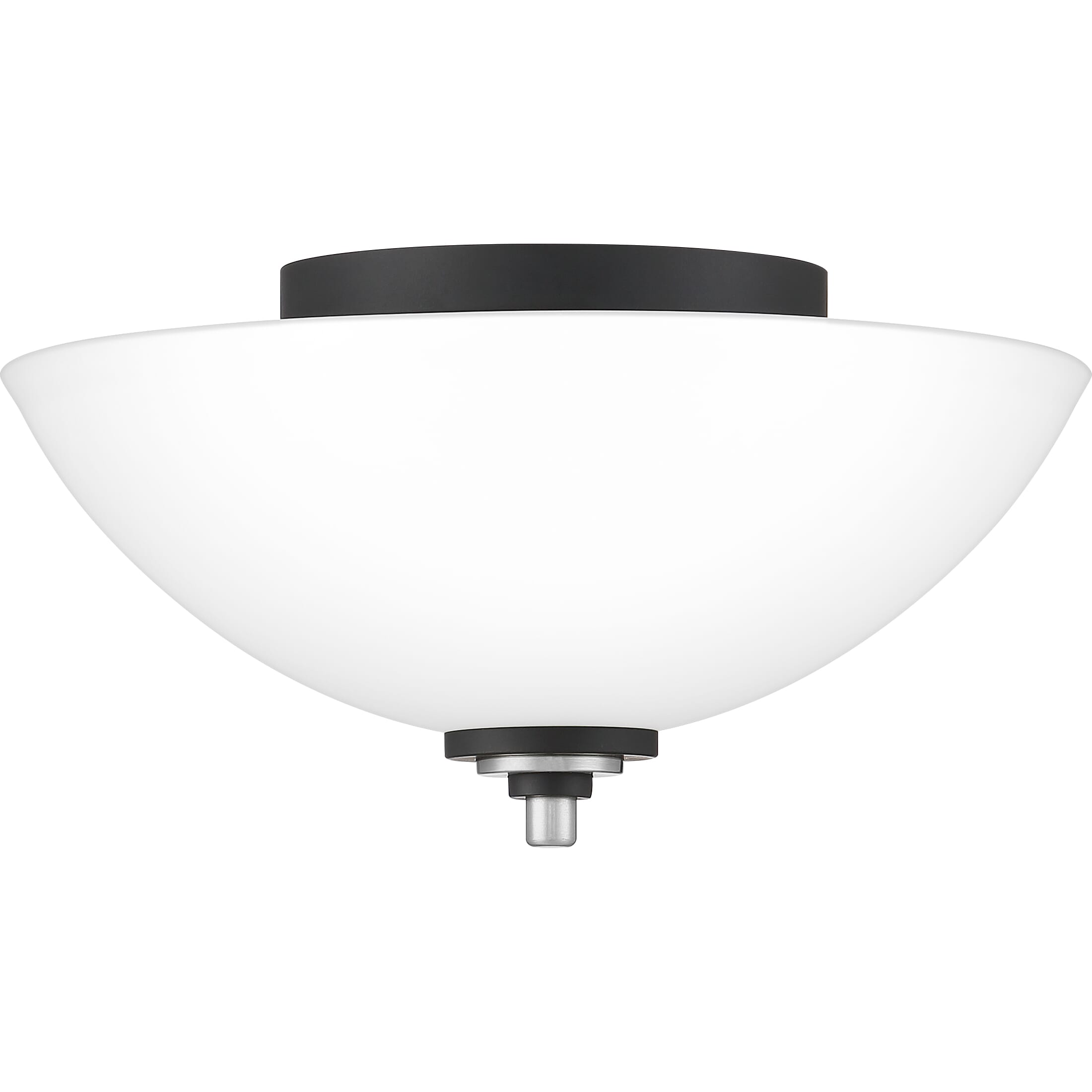 Quoizel Conrad 2 Light 13 Ceiling Light In Brushed Nickel