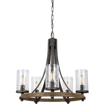 Feiss Angelo 5-Light Chandelier