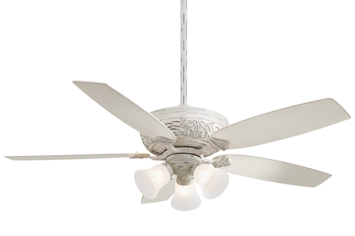Minka Aire Classica 54 Ceiling Fan In Provencal Blanc Lightsonline Com