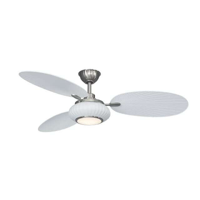 Fanimation Palma 56-inch 3-Blade Ceiling Fan in Matte White