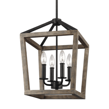 Feiss Gannet 4-Light Foyer Pendant