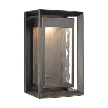 Feiss Urbandale LED Outdoor Wall Lantern in Antique Bronze
