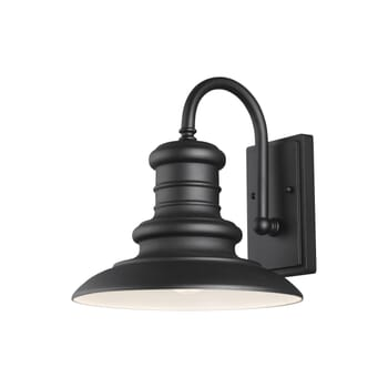 Feiss Redding Station Outdoor Wall Light in Textured Black