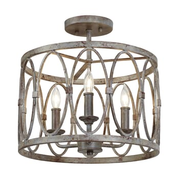 Feiss Patrice Semi Flush Ceiling Light