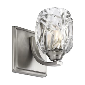"Feiss Kalli 6"" Wall Sconce in Satin Nickel"