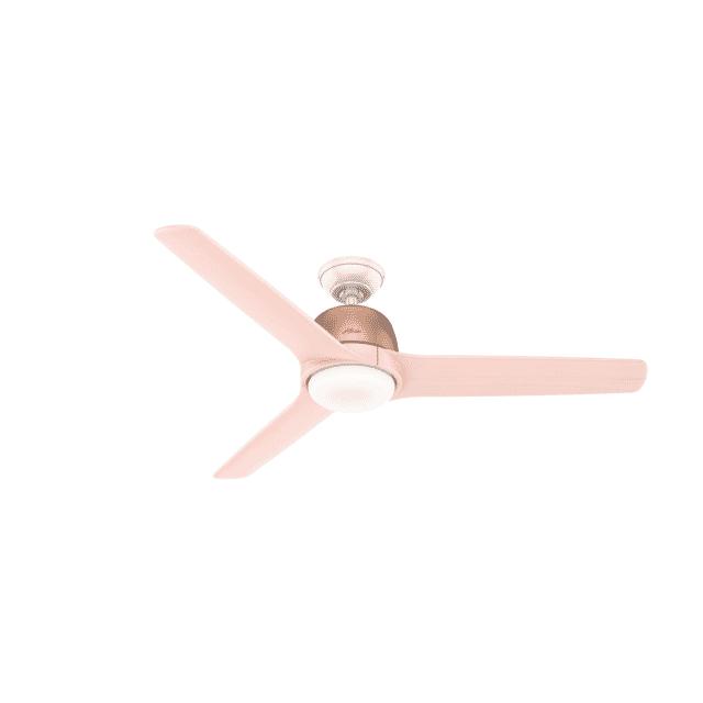 Hunter Norden 54 Indoor Ceiling Fan In Satin Copper Lightsonline Com