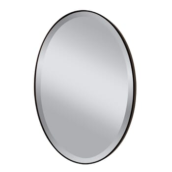 Feiss Johnson Oval Wall Mirror
