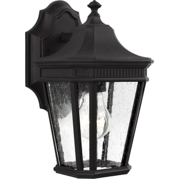 Feiss Cotswold Lane Small Outdoor Wall Lantern in Black