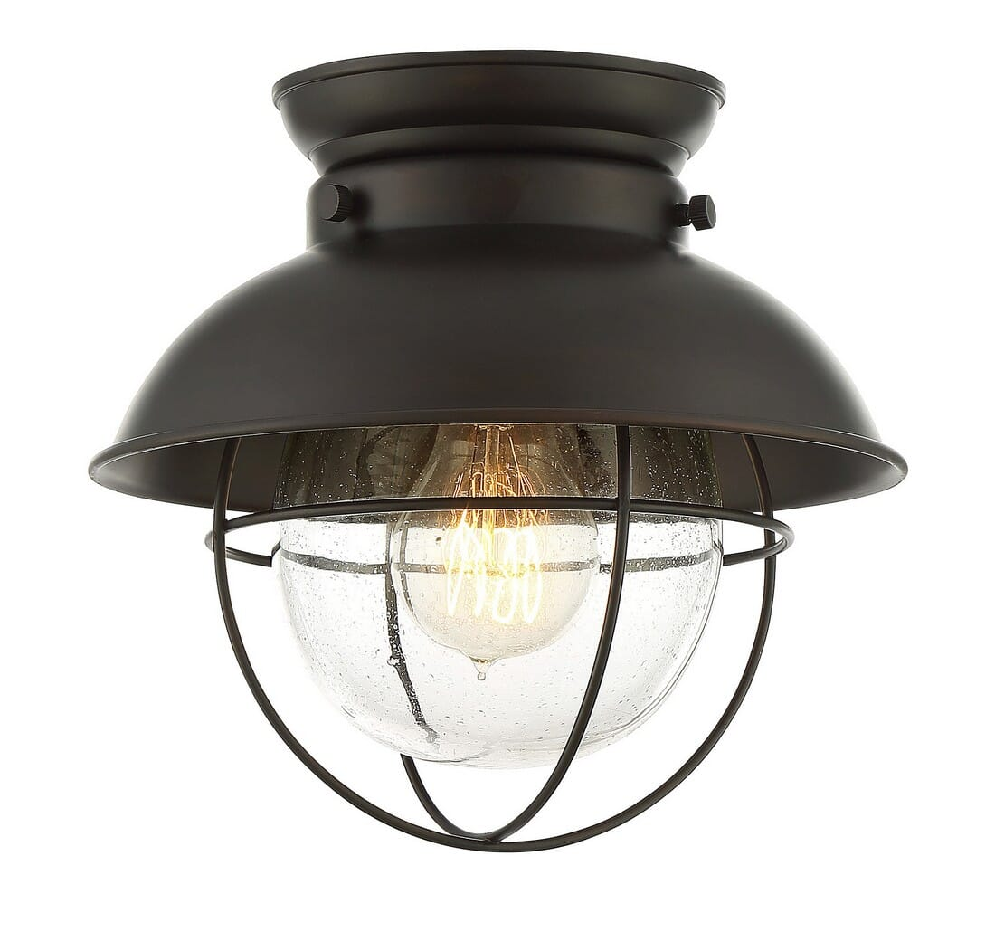 Trade Winds Lakeshore Ceiling Light In Oil Rubbed Bronze Lightsonline Com