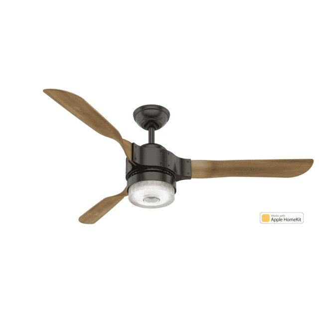 Hunter Fans Apache 54-inch Ceiling Fan in Noble Bronze