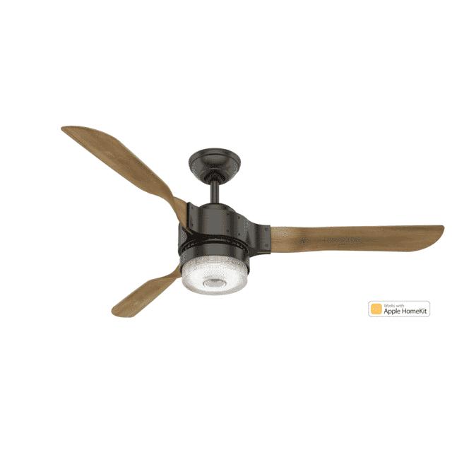 Hunter Fans Apache 54-inch Ceiling Fan in Noble Bronze