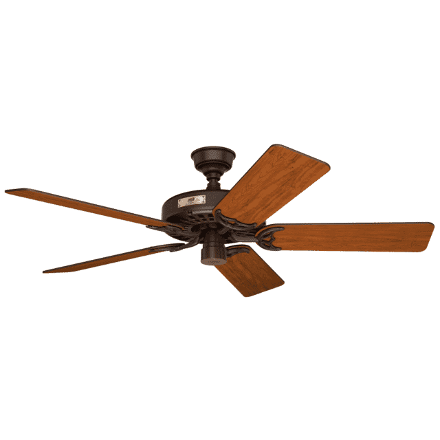 Hunter Original Cherry Blades 52-inch Indoor/Outdoor Ceiling Fan in Chestnut Brown