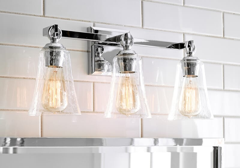 How To Choose Bathroom Vanity Lighting, Vanity Bathroom Lights Fixtures